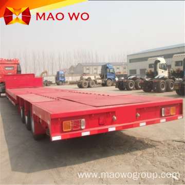 professional design long cargo extendable flatbed trailer