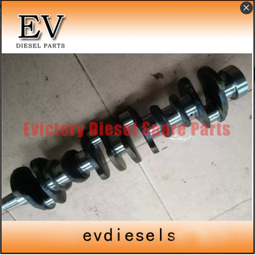 6D125 cylinder head block crankshaft connecting rod