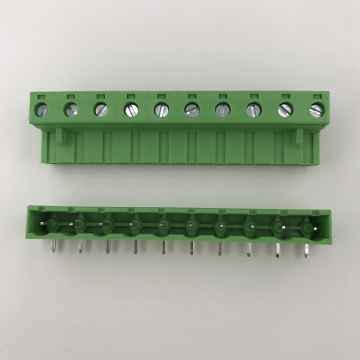 10 ways connect 7.62mm pitch pluggable terminal block