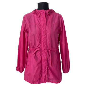 LADIES JACKET WITH HOOD
