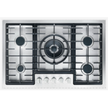 Gas Hobs Miele UK Stainless Steel Top