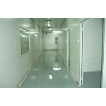 Clean room solvent-free epoxy thin coating