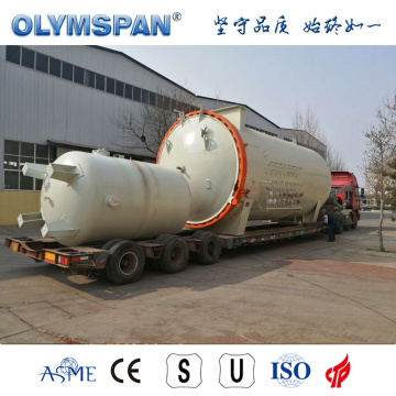 ASME standard small carbon fiber material bonding autoclave