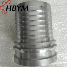 High Pressure Concrete Rubber Hose Galvanized Fittings