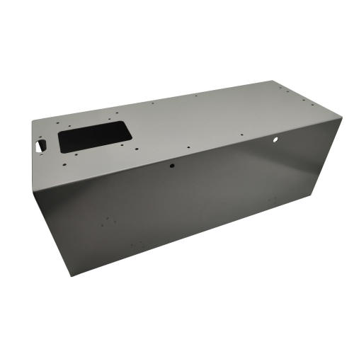 CRS Powder Coated Wireway Sheet Metal Enclosures Fabrication