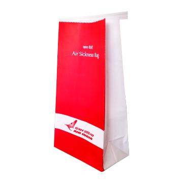 Full cover printing vomit paper bag