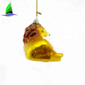 Handmade Christmas Glass Blown Ornament