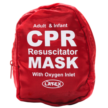 Bag Resuscitator Infant And Adult CPR Mask