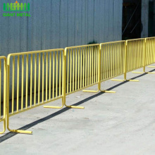 powder coated tube feet traffic Control Barrier