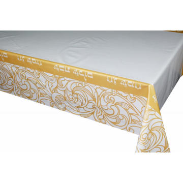 Pvc Printed fitted table covers Table Linens Vaughan