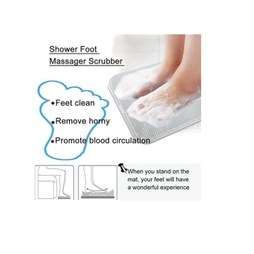 Custom Shower Foot Massager Scrubber
