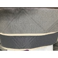 Dark Grey Ultrasonic Microfiber Fabrics
