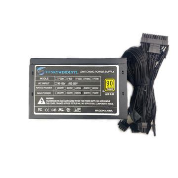 Max 600W pc full modular power supply 450W atx Gaming psu Switching pc Power Supply 450W Pc Power Supply RGB Psu For Gaming