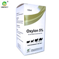 Oxytetracycline HCL Injection 5% for Veterinary