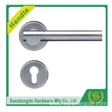 SZD Matte black finis SUS201 stainless steel entrance door pull handle for 8-12mm thickness frameless open glass door