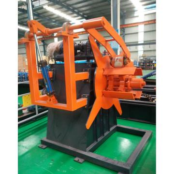 Single Uncoiler for pipe making machine