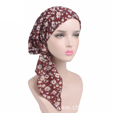 Sexy hijab headwrap turban bandanas cap winter hat