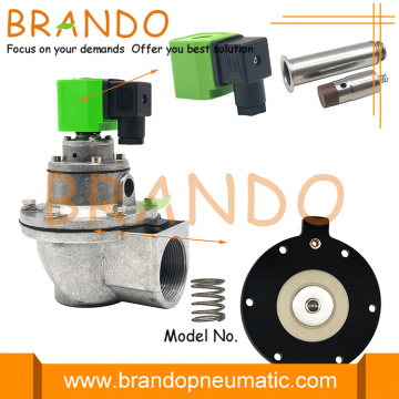 1.5'' DMF-Z-40S Right Angle Type BFEC Pulse Valve