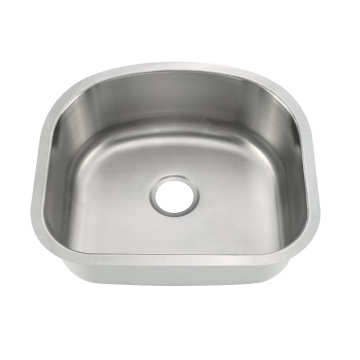 6054A Undermount Single Bowl Kitchen Sink