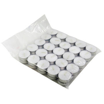 100 pack unscented tea light candles burn 5hour