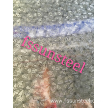 stainless steel embossed sheets butterfly pattern