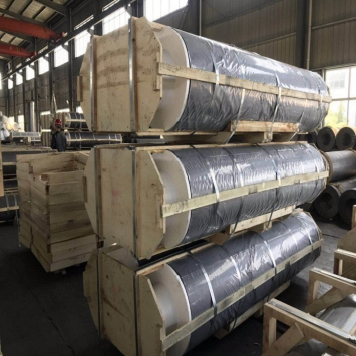 Graphite Electrode UHP 350 for steel smelting