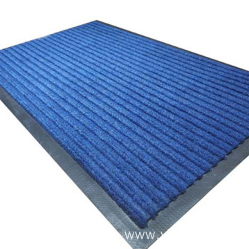 Factory price ribbed non woven carpet mat