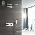 Thermostatic Three Function Brass Shower Faucet Set