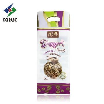 Printing Plastic Dessert Ice Cream Packaging Bag