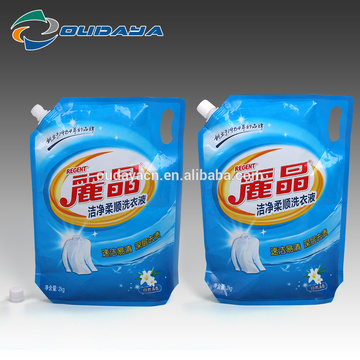 Customized Design Stand Packaging Pouch with Corner Spout