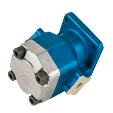 Compact excavator hydraulic gear pumps