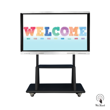 70 Inches Education Interactive Screen With Mobile Stand