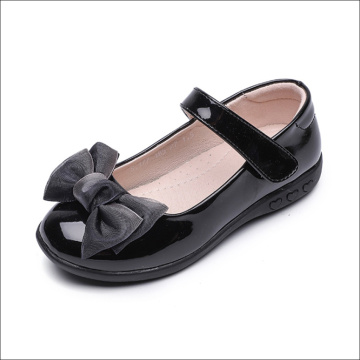Girls Flat Heel Bowknot Dress Shoes