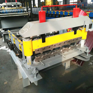 hydraulic roof curve crimping machine