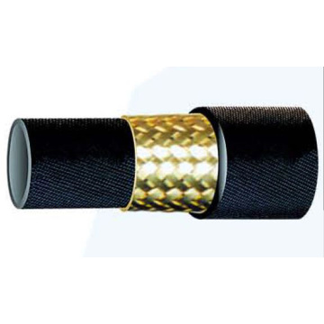 One layer Steel Wire Braided Rubber Tube