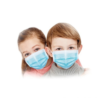 3 Ply Ear-Loop Kids Disposable Face Mask