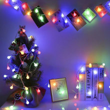 LED Globe Battery Powered Starry Fairy String Lights