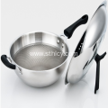 Stainless steel 304 Three-Layer Steel Honeycomb Pan