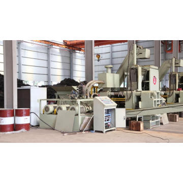 Horizontal Steel Turnings Briquette Machine for Smelting