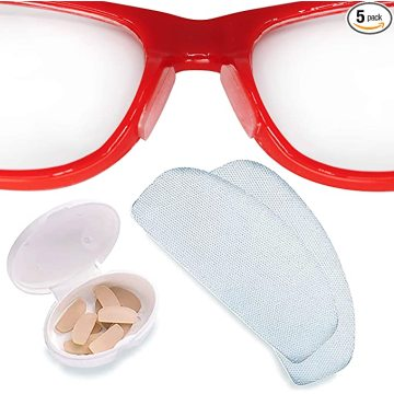 Gecko Grip Anti-Slip Clear Nose Pads for Eyeglasses