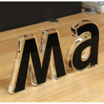 Acrylic Wall Leter Sign