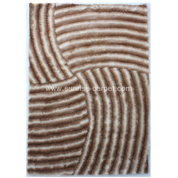 Popular Polyester 3D Shaggy Rug