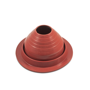 Wholesale Red Color Silicone Rubber Roof Vent Flashing