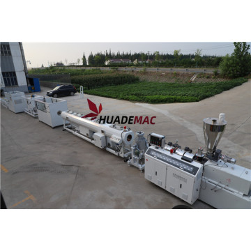 PVC one output pipe extrusion line