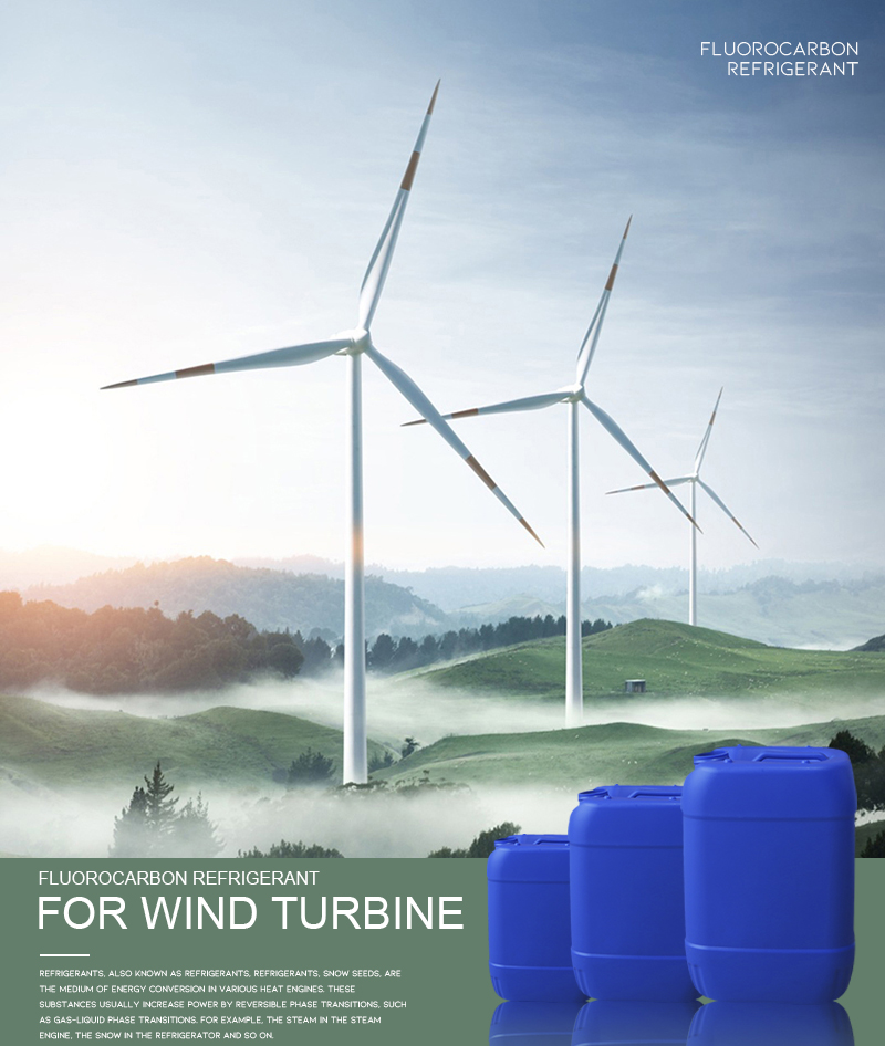 Refrigerant for Wind Turbines Generator