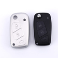 3 Buttons Cover Silicone Car Key Për Fiat