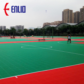 Modular Tennis Court Mat Basketball Court Tiles