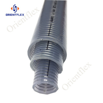 pvc low temperature resistant transparent steel wire hose