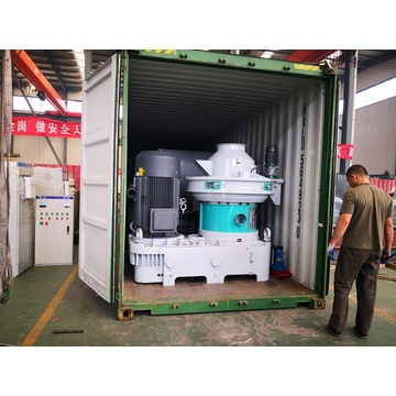 saving of labor Biomass pellet machine