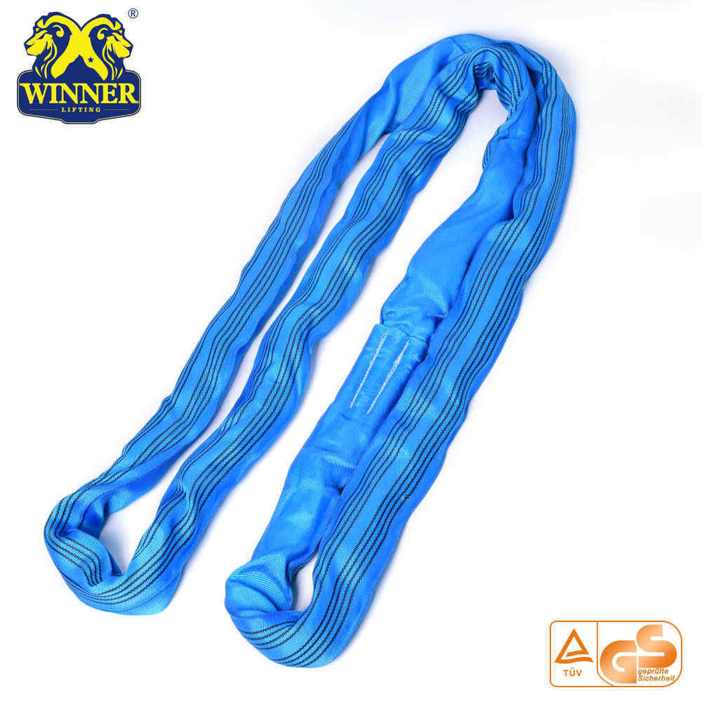 Wholesale Safety Nylon Endless 8T Lifting Round Sling